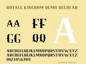 Royale Kingdom - DEMO Regular Version 1.000图片样张