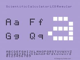 Scientific Calculator LCD Regular Version 1.0图片样张