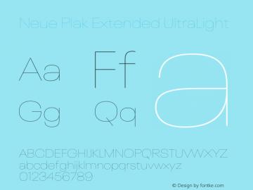 Neue Plak Extended UltraLight Version 1.00, build 9, s3图片样张
