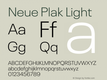 Neue Plak Light Version 1.00, build 9, s3图片样张