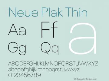 Neue Plak Thin Version 1.00, build 9, s3图片样张