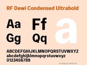 Rf Dewi Condensed Font Rfdewicondensed Ultrabold Font Rf Dewi Condensed Ultrabold Font Rfdewicondensed Ultrabold Version 1 000 Font Ttf Font Uncategorized Font Fontke Com For Mobile
