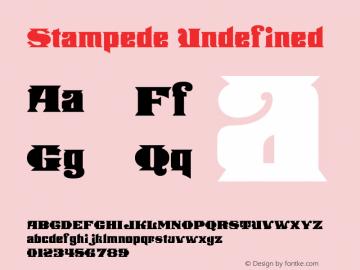 Stampede stampede.stampede.wfkit2.version.2jNN图片样张