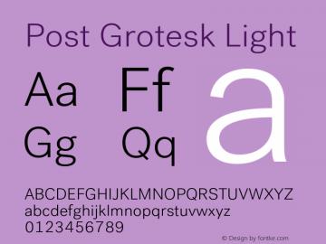 Post Grotesk Font,PostGrotesk-Light Font,Post Grotesk Light Font