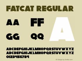 Fatcat Version 1.00 March 12, 2018, initial release图片样张