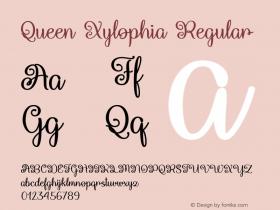 Queen Xylophia Regular Version 1.000图片样张