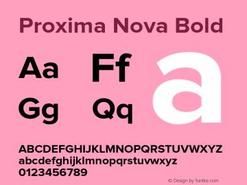 ProximaNova-Bold Version 1.000;PS 001.000;hotconv 1.0.38图片样张