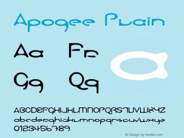 Apogee Plain Version 1.0图片样张