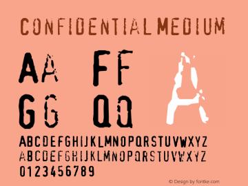 Confidential Version 001.000图片样张