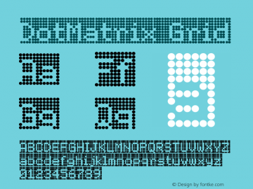 DotMatrix-Grid Version 001.000图片样张