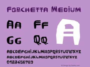 Forchetta Version 001.000图片样张