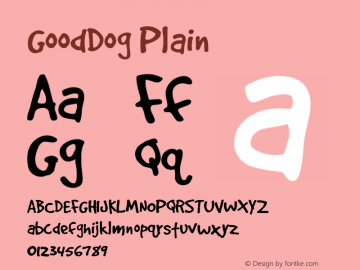 GoodDogPlain Version 001.000图片样张