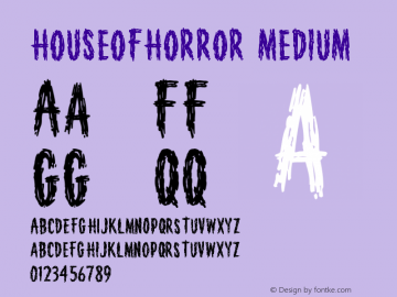 HouseofHorror Version 001.000图片样张