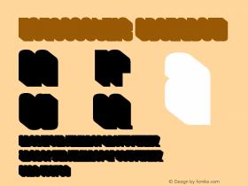HouseGothic-3DShadow Version 001.000图片样张