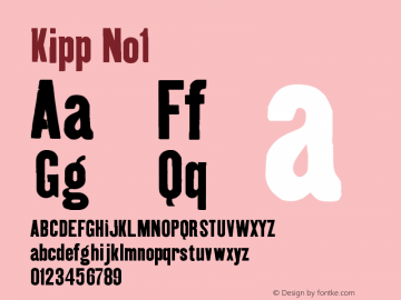 Kipp-No1 Version 001.000图片样张