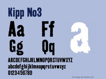 Kipp-No3 Version 001.000图片样张
