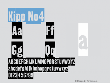 Kipp-No4 Version 001.000图片样张