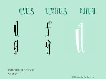 MarcusAurelius Version 001.000 Font Sample