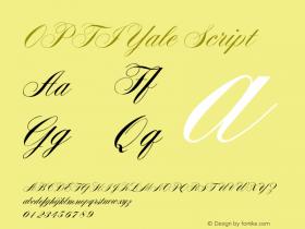 OPTIYale-Script Version 001.000图片样张