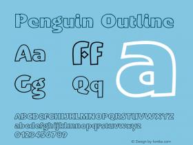 Penguin-Outline Version 001.000图片样张