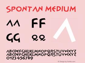 Spontan-Medium Version 001.000图片样张