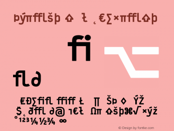 Typestar-BlackExpert Version 001.000图片样张