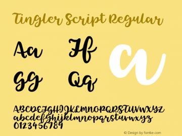 Tingler Script Version 1.000图片样张