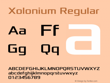 Xolonium Version 4.1图片样张