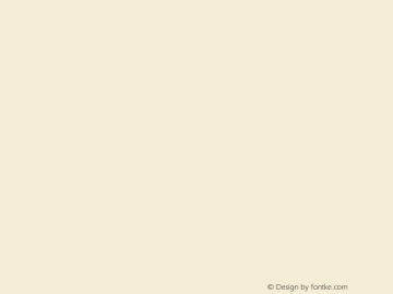 文鼎齿轮体 CoolType Version 1.0图片样张