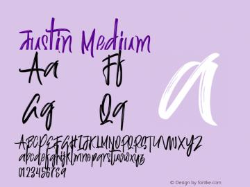 Justin-Medium Version 001.001图片样张