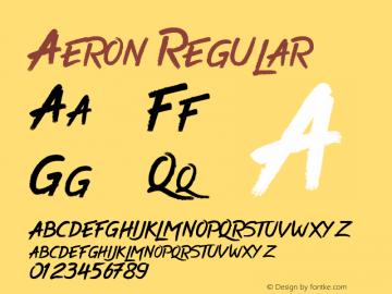 Aeron 1.0图片样张