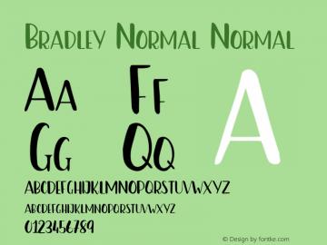 Bradley-NormalNormal 图片样张