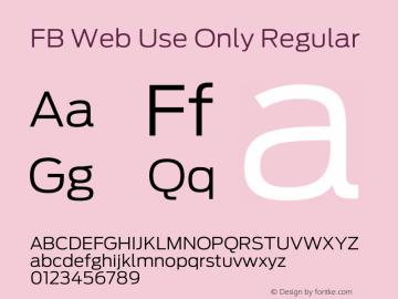 Fb Web Use Only Font Family Fb Web Use Only Uncategorized Typeface Fontke Com For Mobile