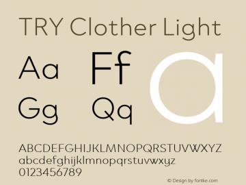 TRY Clother Light Version 1.100图片样张