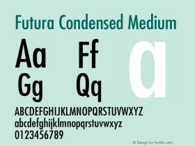 Futura-Condensed 001.003图片样张