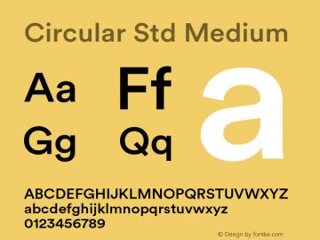 Circular Std Font Family|Circular Std-Uncategorized Typeface