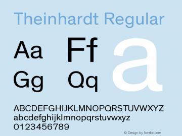 Theinhardt-Rg Version 1.000图片样张