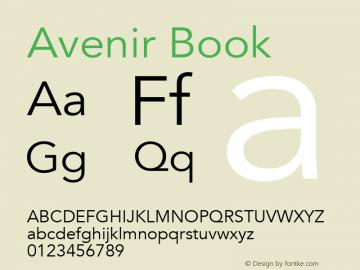 Avenir Book 8.0d5e3图片样张