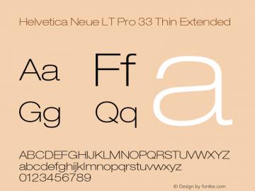 HelveticaNeueLTPro-ThEx Version 1.300;PS 001.003;hotconv 1.0.38图片样张