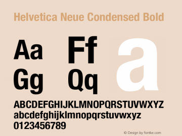 Helvetica Neue Font,Helvetica Neue Condensed Bold Font