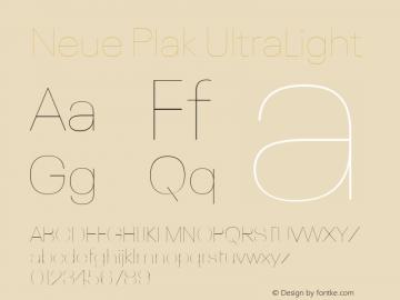 Neue Plak UltraLight Version 1.00, build 9, s3图片样张