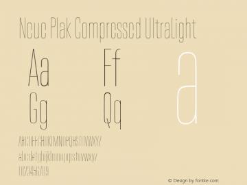 Neue Plak Compressed UltraLight Version 1.00, build 9, s3图片样张