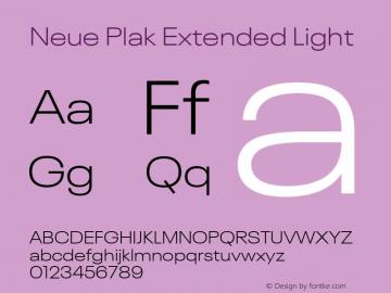 Neue Plak Extended Light Version 1.00, build 9, s3图片样张