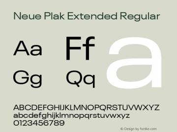 Neue Plak Extended Regular Version 1.00, build 9, s3图片样张