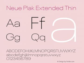 Neue Plak Extended Thin Version 1.00, build 9, s3图片样张