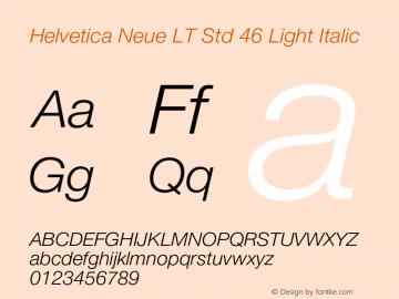 helvetica neue lt std thin free font download