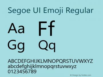 Segoe UI Emoji Version 1.20;O365图片样张