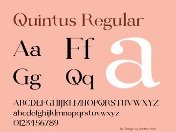 Quintus 1.000图片样张