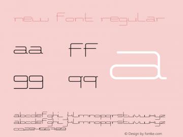 new Font Version 1.000;PS 001.000;hotconv 1.0.70;makeotf.lib2.5.58329 DEVELOPMENT图片样张