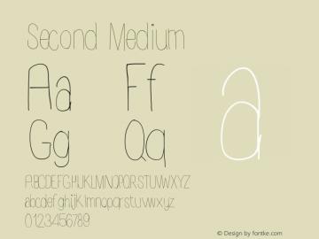 Second Medium Version 001.000图片样张
